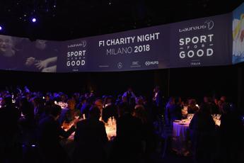 Laureus F1 Charity Night il 5 settembre a Milano