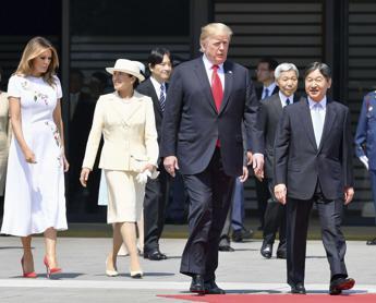 L'imperatore in albergo da Trump