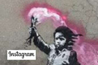 E' di Banksy il bimbo migrante a Venezia