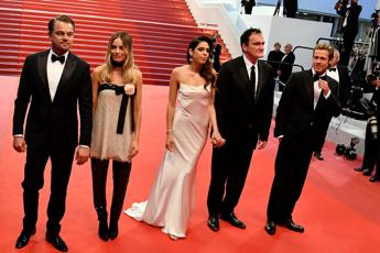 Con Tarantino 'Once Upon a Time' in Cannes
