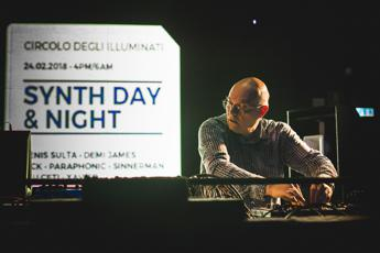 Morgan e Rancore al Circolo degli Illuminati per il Synth Day