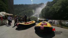 Rafting contro il bullismo alle Marmore