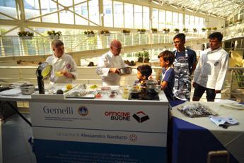 Heinz Beck al Gemelli, laboratori di cucina per giovani pazienti