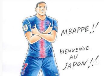Mbappé incontra 'Holly e Benji': Che sogno!
