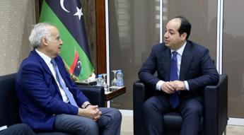UN special envoy to Libya holds talks with deputy PM