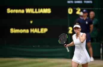 Wimbledon, Simona batte Serena