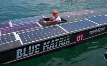 SunRazor 01, l'imbarcazione solare e hi-tech tutta italiana