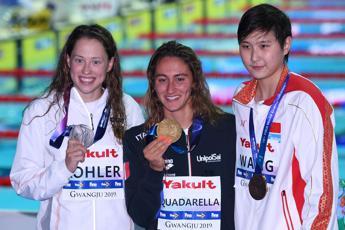 Quadarella mondiale, primo oro Italia