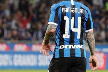 L'Inter abbraccia Claudia Lai Nainggolan
