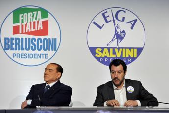 Gelo Berlusconi-Salvini