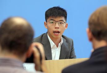 Joshua Wong: Cina vuole esportare censura in Italia