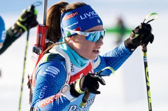 Mondiali Biathlon, Wierer d'argento nella mass start