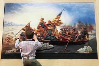 Usa, con i quadri in 3D l'arte arriva ai non vedenti