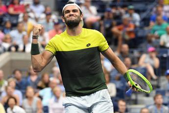US Open, Berrettini in semifinale