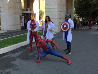 Test Medicina alla Sapienza, 'supereroi per un camice bianco'