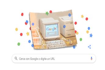 Google festeggia i suoi 21 anni con un doodle vintage
