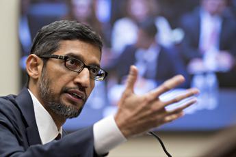Google, Pinchai annuncia maxi accordo sulle rinnovabili
