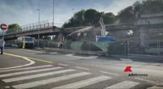Demolito tratto Tangenziale Roma, il video della Raggi