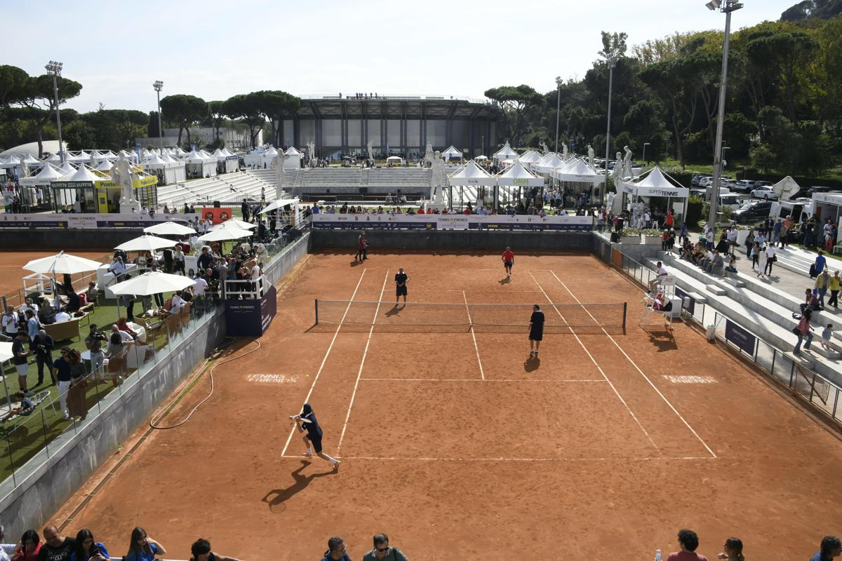 Tennis & Friends, oltre 20mila check up nel weekend al Foro Italico