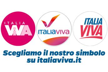 Italia Viva, Renzi lancia 3 loghi: Scegliamo