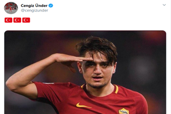Under e il post per la Turchia, tifosi in rivolta