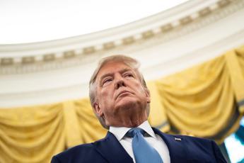 Sergio Mattarella a Washington. Le foto con Donald Trump