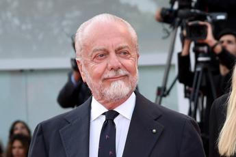Regionali, De Laurentiis: Il Napoli sostiene De Luca