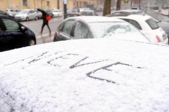 Weekend di temporali e neve