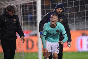 Inter, Barella si opera al ginocchio