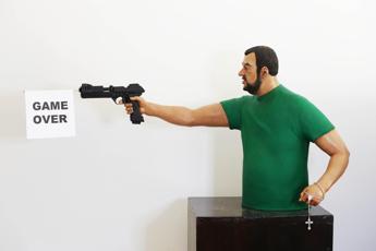 Salvini che spara non è opera mia