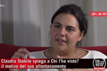 """""""Scappo da mio marito, non dai miei figli"""", le ragioni di Claudia"""