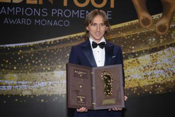 Modric vince il Golden Foot 2019