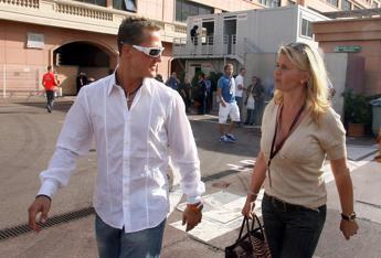 Michael Schumacher, la moglie Corinna lo ringrazia