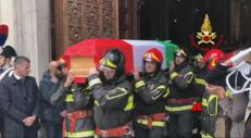 Antonino, Marco e Matteo. Lo struggente addio ai 3 pompieri morti
