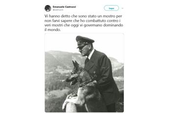 Tweet pro Hitler, Procura sequestra profilo del prof: è indagato