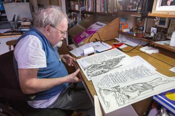 E' morto Alasdair Gray, autore del monumentale fantasy 'Lanark'