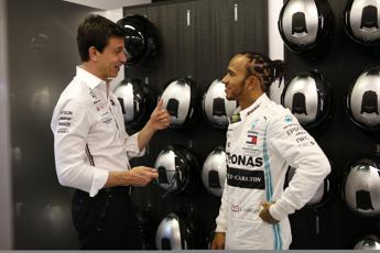 Ferrari, Wolff: ''Io a Maranello? Meglio su Marte con Hamilton