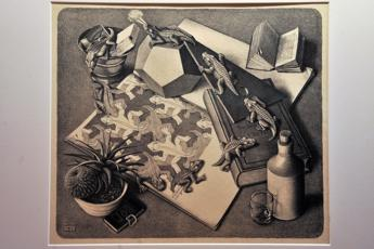 Il genio di Escher in mostra a Trieste