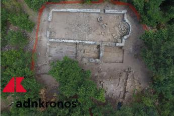 Scoperta necropoli e imponente chiesa romanica nel viterbese