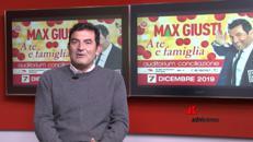 Max Giusti, Buon Natale 'A te e famiglia'