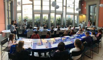 Con Bracco ragazzi degli oratori alla scoperta di 'Leonardo e la Madonna Litta'