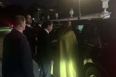 Trump offre un 'passaggio' a Conte e Macron /Video