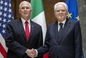 Mattarella a Pence: Ribadiamo amicizia e collaborazione