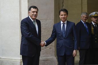Libia, il premier Serraj a Roma per incontro con Conte
