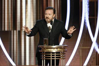 Golden Globes, Ricky Gervais insulta tutti