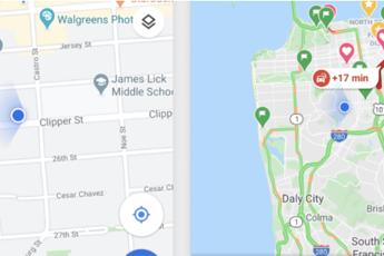 Google Maps compie 15 anni, nuovo look e 5 sezioni in più