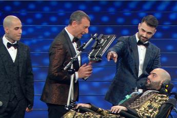 Sanremo, standing e commozione per il sogno di Paolo
