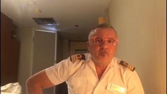 Ufficiale Costa Victoria: 'Io ammalato sequestrato sulla nave'