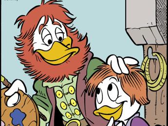 Raffaello diventa un fumetto, Topolino celebra il cinquecentenario