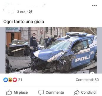 Cecchini (Italia Celere), 'denunciata autrice post che gioiva per morte Apicella'